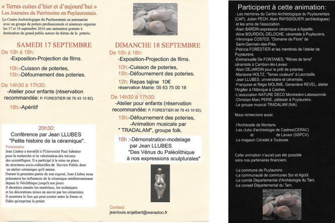Details programme
