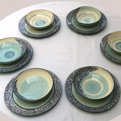 Plates creuses feuillage